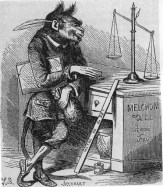 MELCHOM - The paymaster of civil servants in hell. He is known as the demon who carries the purse.