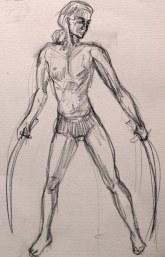 Life Sketch by Kay De Garay