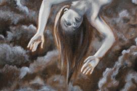 Oil Painting in progress by Kay De Garay