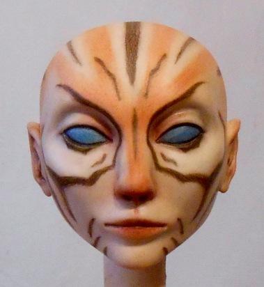 Doll Head by Kay De Garay