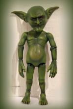 OOAK ball jointed goblin doll by Kay De Garay