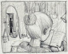 Pencil Sketch by Kay De Garay